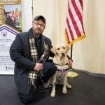 Jeff and service dog Annie