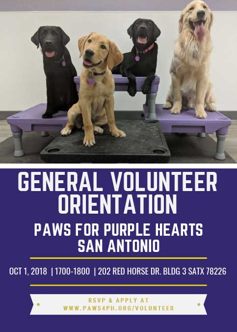 San Antonio Volunteer Orientation