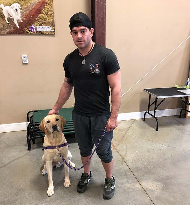 Buck - PPH Virignia Service Dog in Training, Buck Left a Paw Print on Linnys Heart