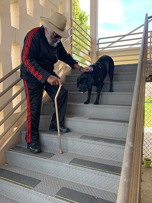 Veteran Willie with PPH Schatzie