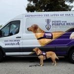 PPH Liberty replicates her pose featured on the new PPH van wraps