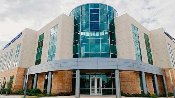 The first of two new state-of-the-art facilities. It is home to major cyber operations.