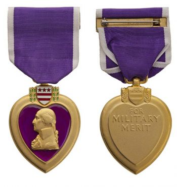 The Purple Heart medal