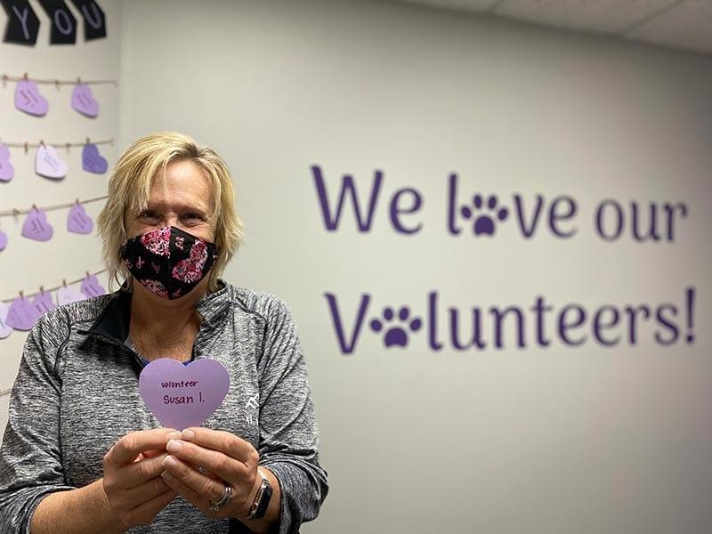 PPH San Diego volunteer, Susan