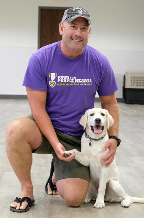 Army Veteran participates in Canine-Assisted Warrior Therapy in San Antonio