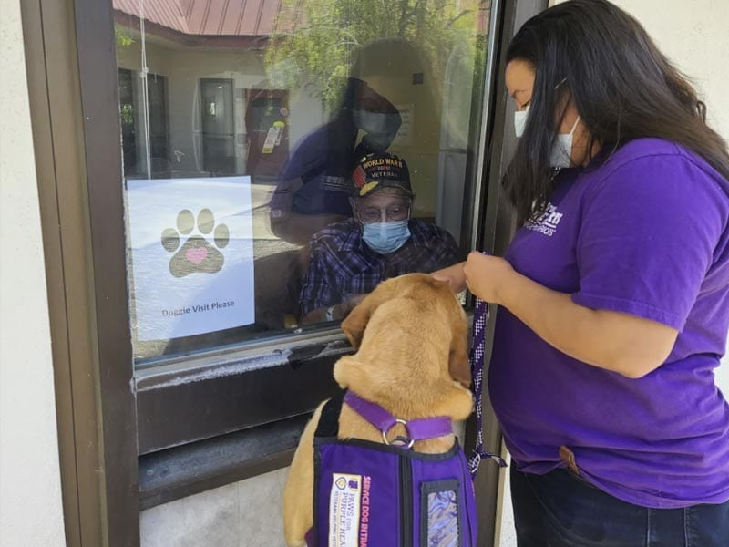 PPH Menlo Park found news ways to serve Veterans during this pandemic