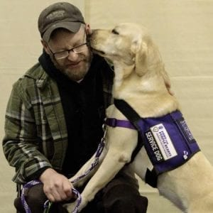 Assistance Dog Recipient