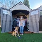 Girl Scout Partners with Paws for Purple Hearts for her Gold Award Project