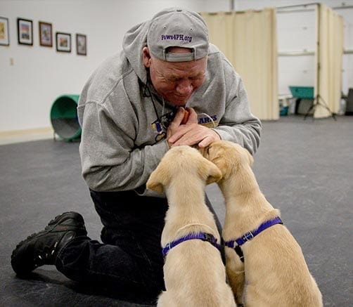 Your donation of$100 provides one hour of Canine-Assisted Warrior Therapy® to a Warrior in need.
