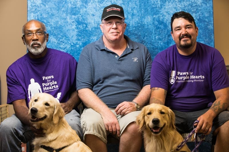 Paws for Purple Hearts expands its program to help Warriors in Virginia